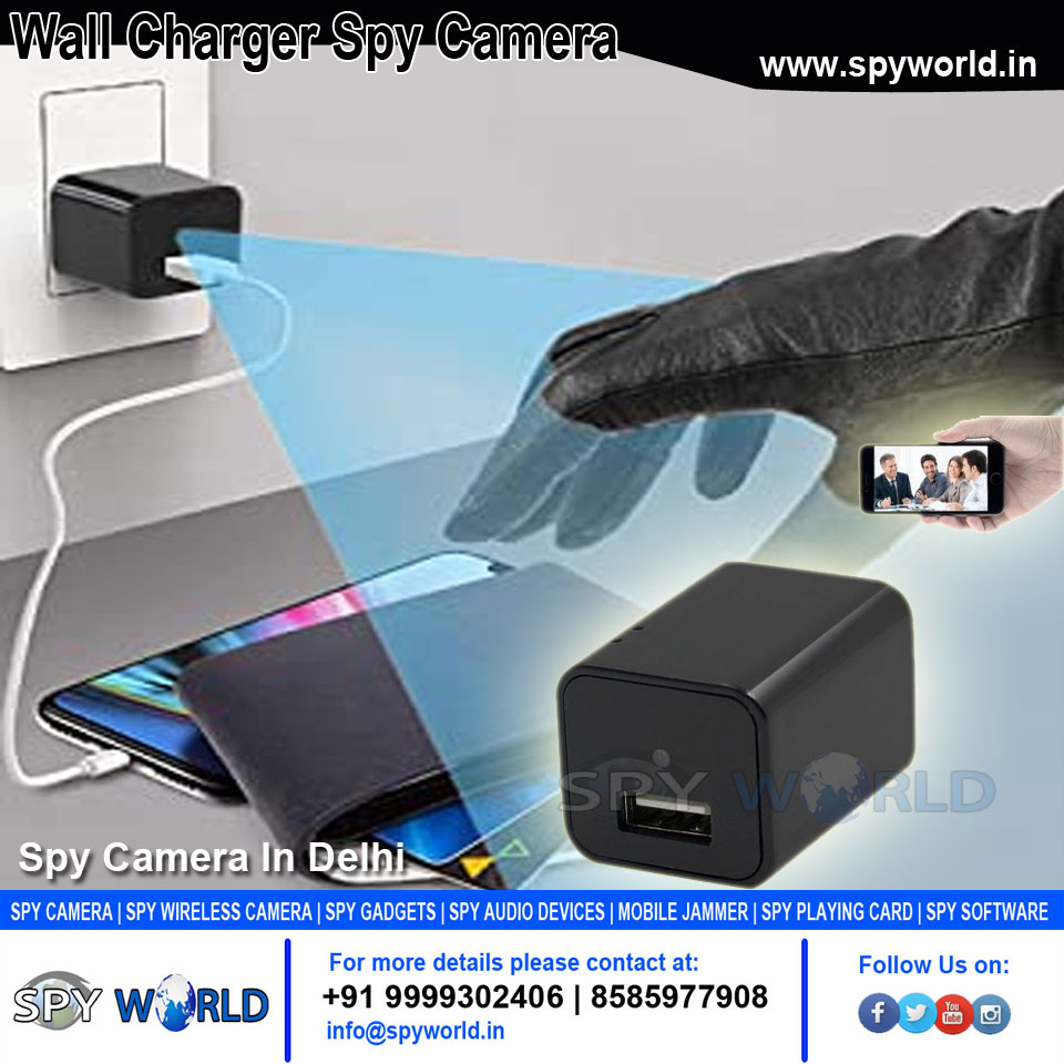 This is a real USB #Wall Charger, so you can charge your other electronical #device via this spy camera adapter, and it is discreet when #recording. #Call: 9999332099, 9999332499 Visit Here: https://t.co/jem1NArphI https://t.co/UsviJJCnV1
