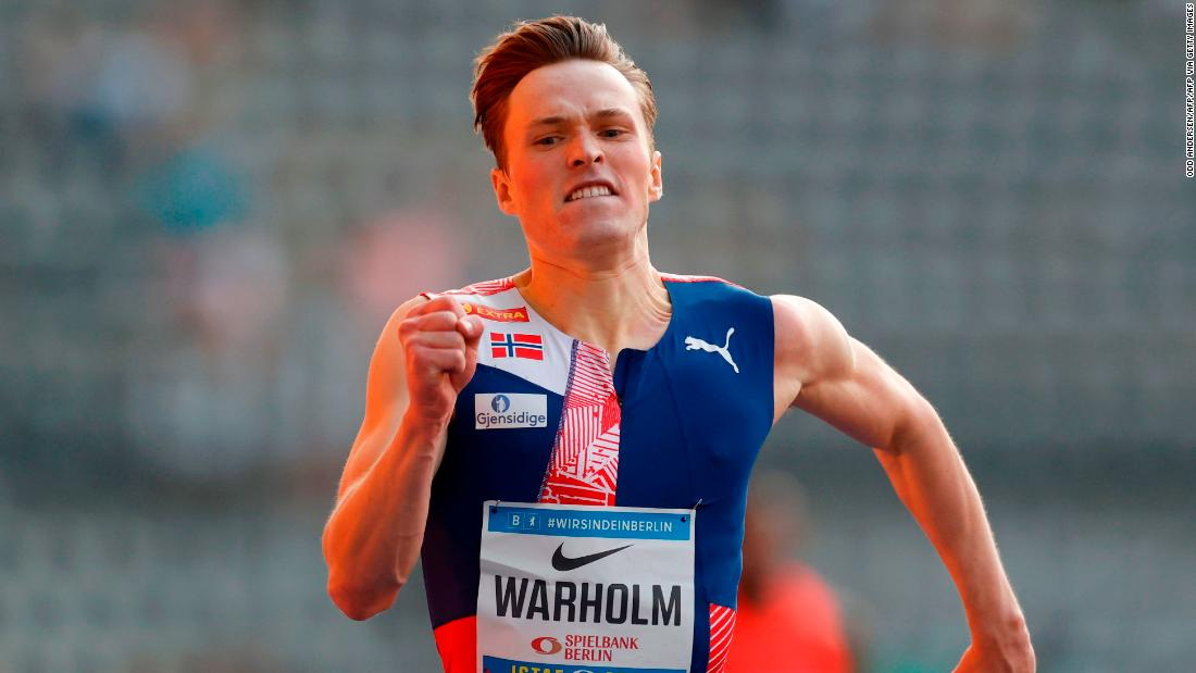 After the season of his life, Karsten Warholm wants to win athletics' 'moon race' https://t.co/28xEWACouT https://t.co/1QSouWeHq2