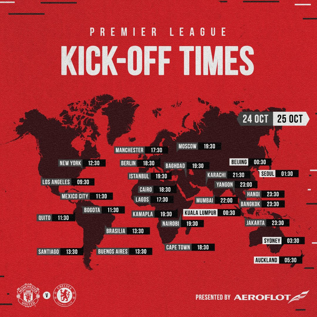 What time does #MUNCHE kick off where you are? 📍  🔴 #MUFC ✈️ @Aeroflot_World 🌍 #WeBringTheWorldTogether https://t.co/9kP8f9r2gU