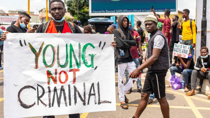 Nigerians protesting against police violence with the #EndSARS movement are finding allies across the world.