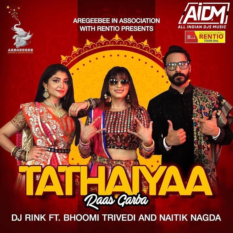 TATHAIYAA - Raas Garba (Remix) - DJ RINK X Bhoomi Trivedi X Naitik Nagda  Download - https://t.co/VhZRSSJRdk  #tathiyaa #raasgarba #remix #djrink #bhoomitrivedi #naitiknagda #mashup #aidm #allindiandjsmusic #aidmrecords #ashishsaraf https://t.co/tdzaM8FEMw