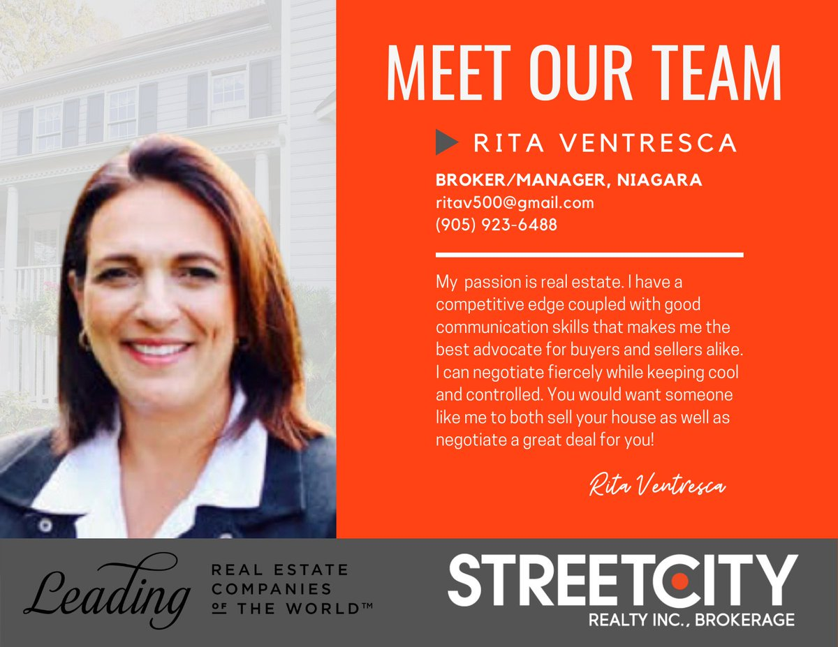 Our unwavering goal is to provide an enhanced personal real estate experience for our clients and customers. StreetCity Realty Inc., Brokerage: Quite Simply Making Real Estate Better. #streetcityrealty #ontariorealestate #realestateservices https://t.co/Spv1GiRoov