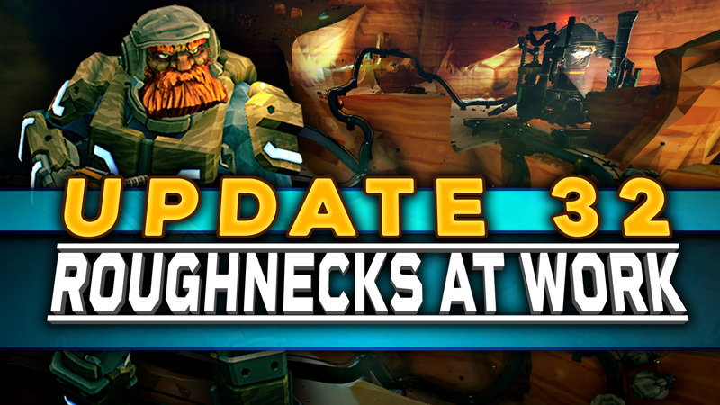 Update 32: Roughnecks At Work is now available on Xbox and Windows Store! The Roughneck Pack DLC is going to go through certification first, so have patience! Hope you love playing it as much as we loved making it! https://t.co/U6wIbh3gXg