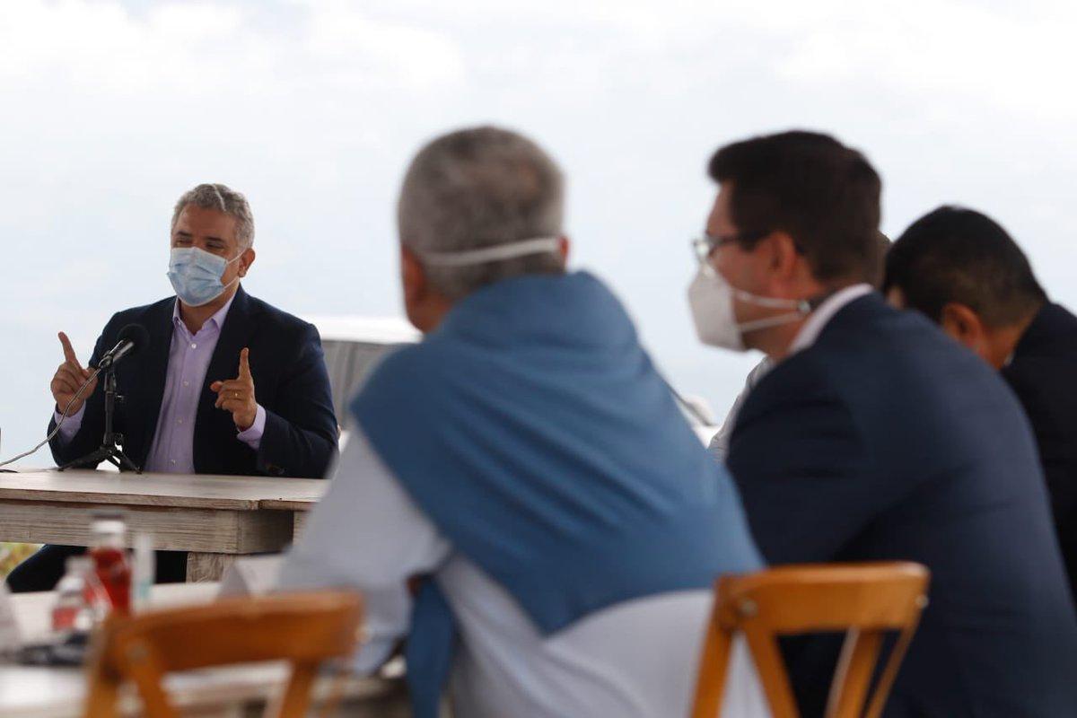 """@Aerocafeoficial es un hecho, el presidente Duque sigue manifestando todo el interés y el empeño en este proyecto: """"A partir de hoy estamos a toda marcha ejecutiva para que nosotros le demos a Caldas y a Colombia este importante proyecto"""". @infopresidencia @GoberCaldas https://t.co/z7gsvuV4XO"""