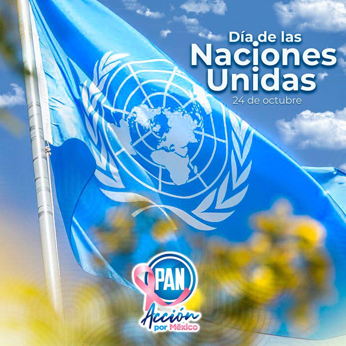 Hoy celebramos el 75 aniversario de la @ONU_es, enfrentando una crisis a nivel mundial lo cual nos hace entender que la cooperación internacional, la solidaridad y la construcción de paz, son más importantes que nunca. #DíaDeLasNacionesUnidas https://t.co/jvCf6HDEQJ