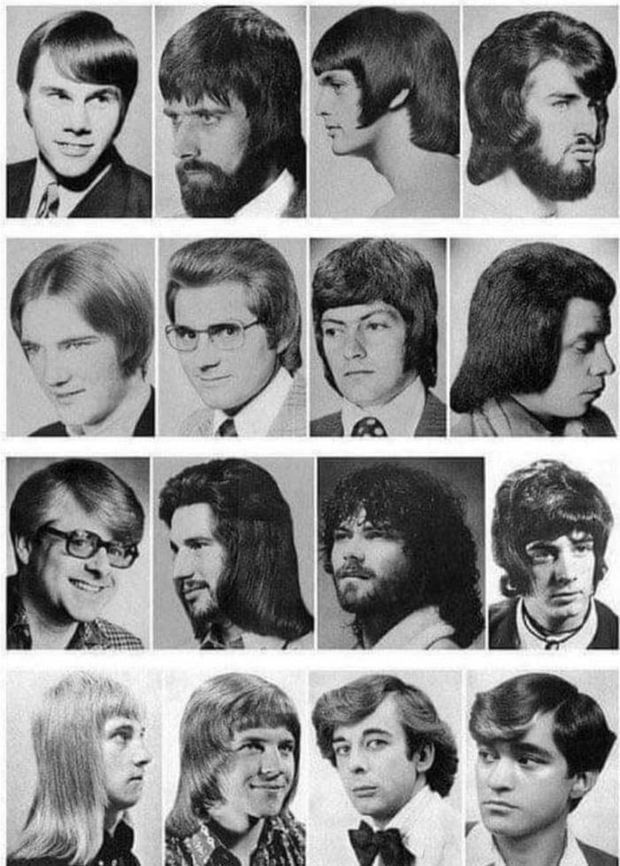 If 2020 was a man's haircut, which one would it be? Choose from below: #2020hair