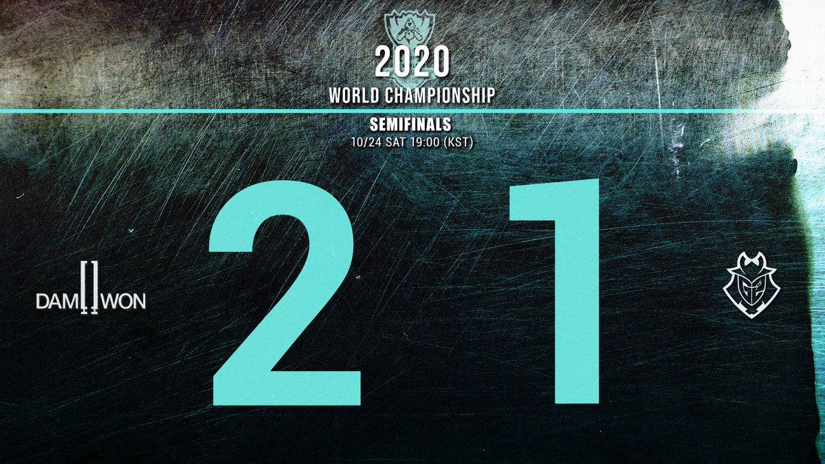 @DamwonGaming's photo on #Worlds2020