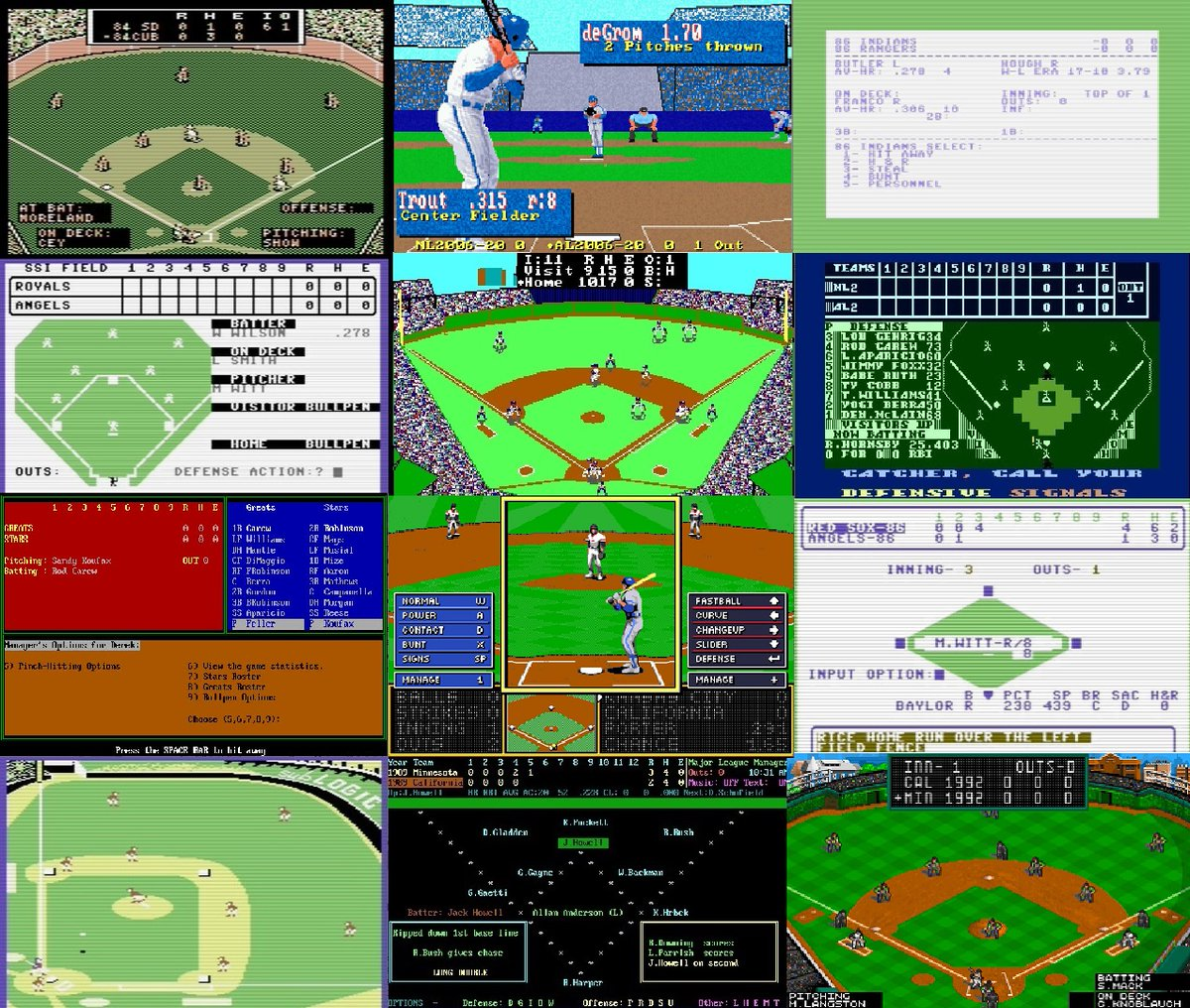 Retro reviews of classic computer baseball games https://t.co/2bj2TUYjsy #retrogaming #atari #commodore #apple #ibm #macintosh #amiga #baseball #ssi #AvalonHill #microleague #ElectronicArts #Weaver #Stormfront #Larussa #FullCount #APBA #Strat #PTP #PureStat #StatisPro #hardball https://t.co/L0x9XRIzBr