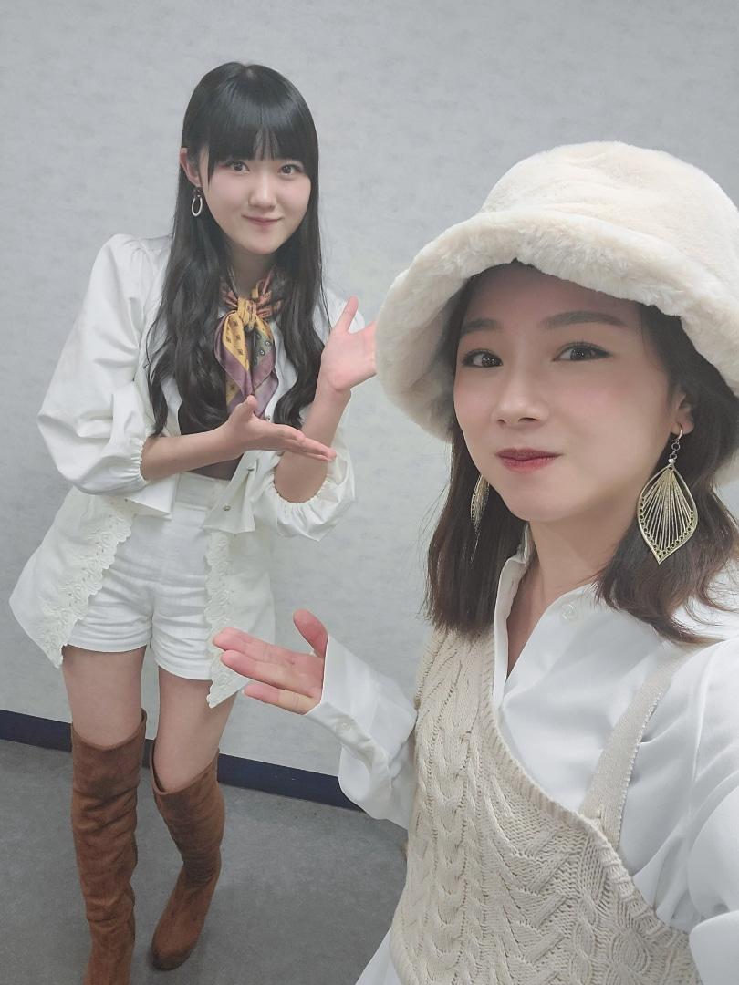 【10期11期 Blog】 今日のあの曲!石田亜佑美: おばんですっ石田亜佑美です三郷公演MCは私と、BEYOOOOONDSの江口紗耶ちゃんでしたさやりん、本番前にMCの、相槌の練習までしてて、とても可愛らしかったですちなみにその練習段階では、なるほど~…  #morningmusume20 #ハロプロ