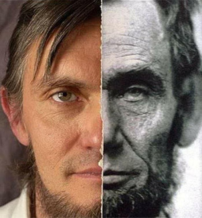 Ralph Lincoln, an eleventh generation relative of Abraham. #History