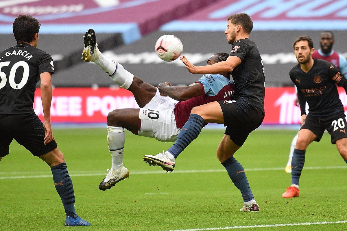 FT Premier League Empate a uno entre el West Ham y el Manchester City que no ayuda a ninguno de los dos a crecer en la tabla de posiciones. Los