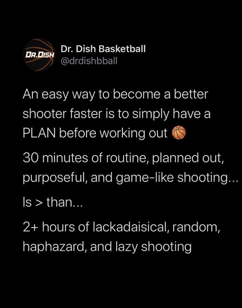This is so true. Anytime with a ball and a hoop is an opportunity. How do you make the most of it?? #MondayMorning #MahometMotivation https://t.co/l3XE0BFeGr