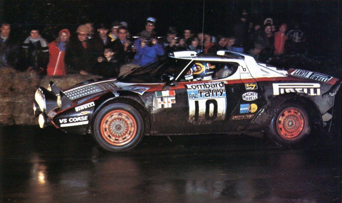 #StratosSaturday RAC Rally 1978 #Lancia Stratos HF Sandro Munari / Piero Sodano DNF Engine https://t.co/mSaOAPO4fR