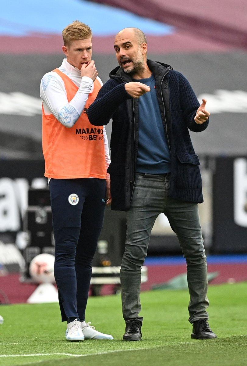 Goals scored by Man City in the Premier League so far:  3️⃣ vs. Wolves 2️⃣ vs. Leicester City  1️⃣ vs. Leeds United  1️⃣ vs. Arsenal 1️⃣ vs. West Ham  A worry trend. 📉📉📉 https://t.co/R09aCXI5Ul