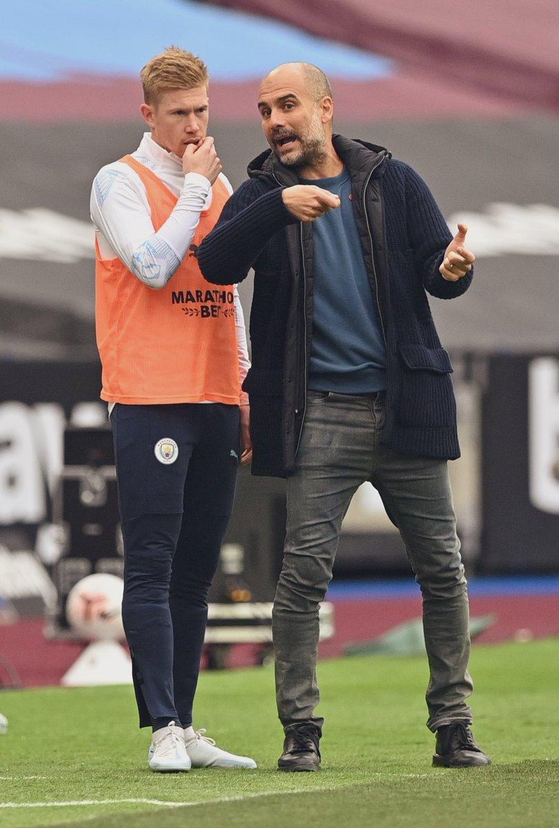 El #ManCity en la Premier League 20/21:  •3-1 vs. Wolves. •2-5 vs. Leicester. •1-1 vs. Leeds. •1-0 vs. Arsenal. •1-1 vs. West Ham.  📍8 Puntos, de 15 posibles. 📍En estos momentos, son 11º en la tabla de posiciones.  Inicio de temporada con dudas. Dependencia a De Bruyne. https://t.co/hD6afjsJBT