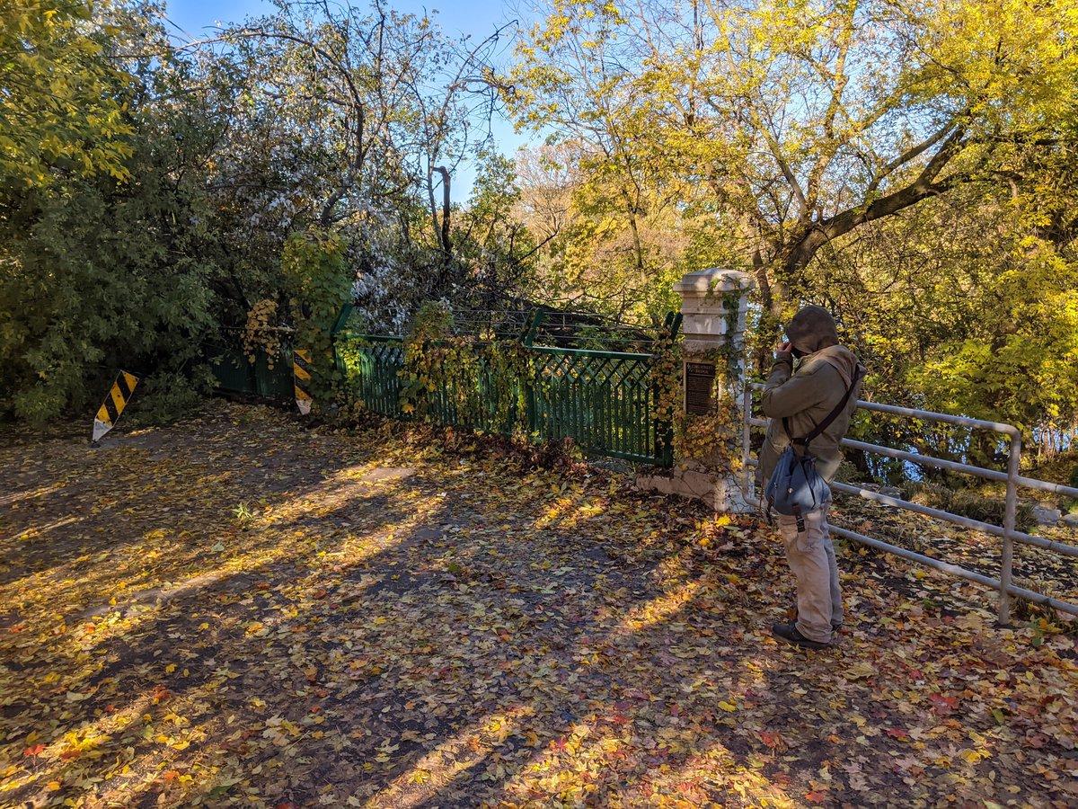 .@CityofLdnOnt Theres a tree down on the Forks pedestrian bridge