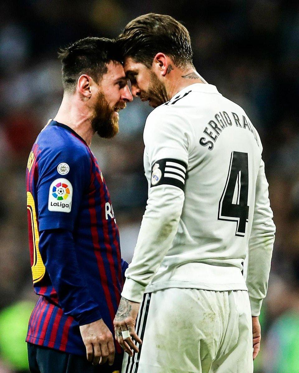 ▪︎Primera vez que se jugará #ElClasico en el Camp Nou a puerta cerrada ▪︎Primera vez que los dos equipos vienen de perder en Liga: Barcelona ante Getafe y Real Madrid ante Cadiz ▪︎ Primera vez que ninguno esta dentro de los 2 primeros en Liga  🔴Barcelona Vs Real Madrid ⚪ https://t.co/Rm0tnZctXF