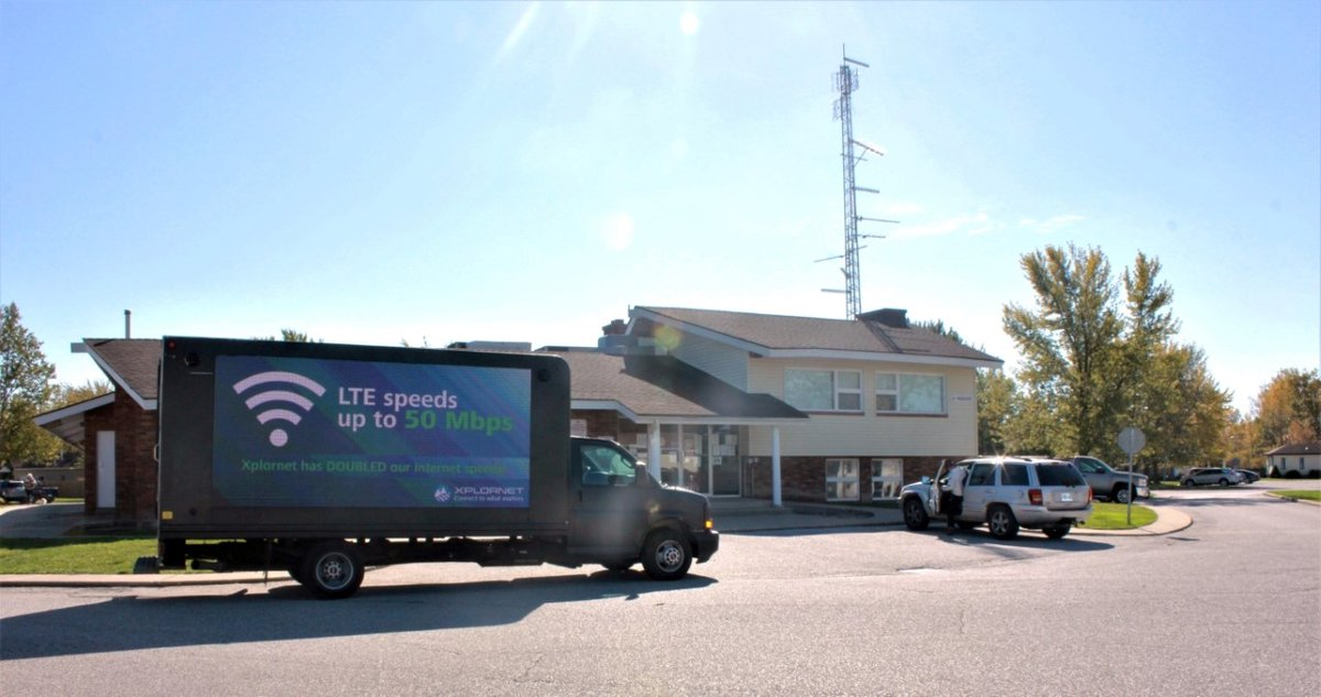 Look for us today in Stevensville and Ridgeway Ontario, where we will be driving around in our mobile truck with our friends at GiantFM handing out giveaways! Visit one of our booths for special information and to learn more about getting connected to speeds up to 50 Mbps! https://t.co/CgXEpJOHpZ