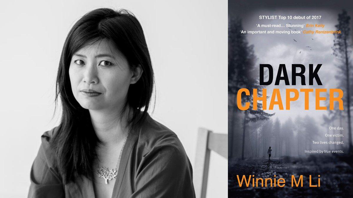 Join @winniemli for a reading and Q&A on 28 Oct at 19:15! Li is the author of Dark Chapter. Winner of the Guardian's Not-The-Booker Prize, it was nominated for an Edgar Award and Best First Novel Award, and was translated into 12 languages. Book here: lght.ly/nne27jc