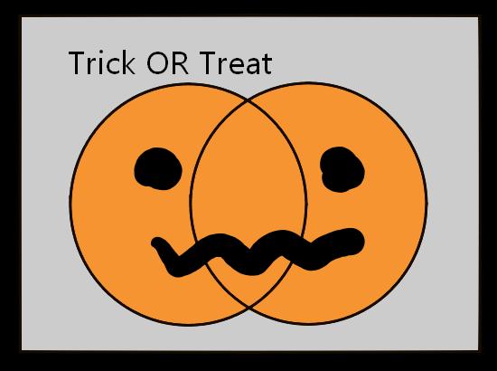 #ハロウィン でわかる論理演算 #Halloween
