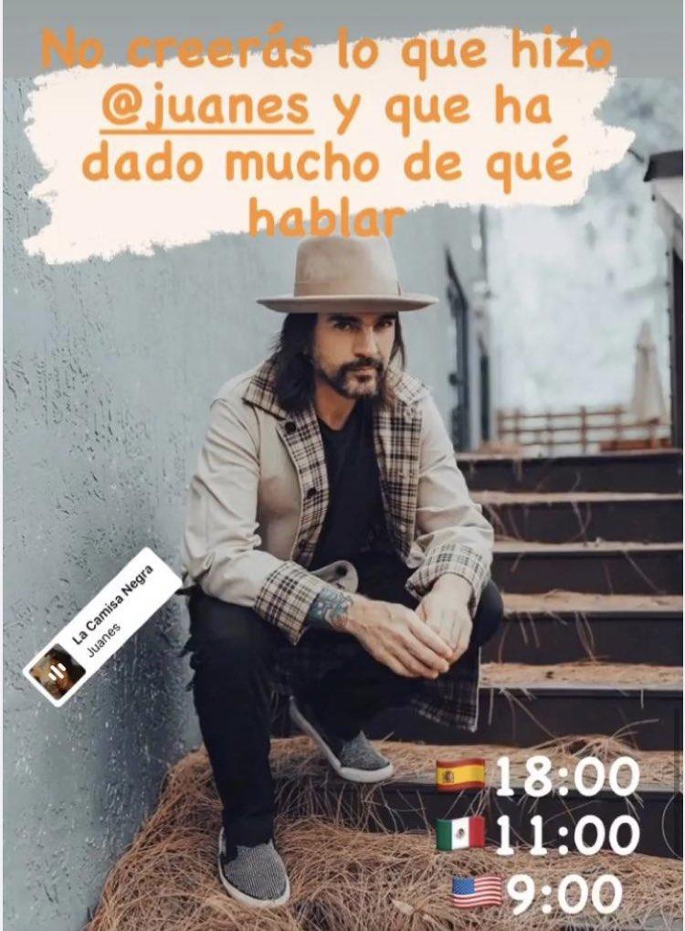 Las últimas noticias del famoso Parcero @juanes desde Coslada Madrid #colombianosenMadrid #juanes #lacamisanegra #music #latinosenMadrid