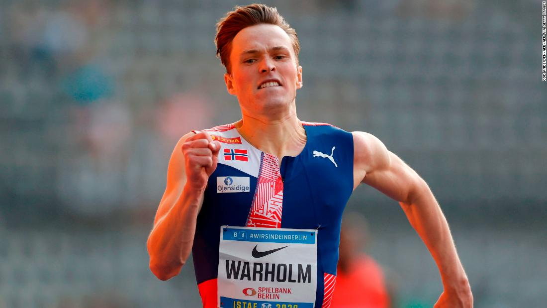 Karsten Warholm wants to win athletics' 'moon race'  It's not often an athlete clocks a personal best and then leaves the track with a nagging sense of disappointment. But after Karsten Warholm ran the second-fastest 400m hurdles in https://t.co/NGIpFH2EuV https://t.co/Ca9JhAMbv5