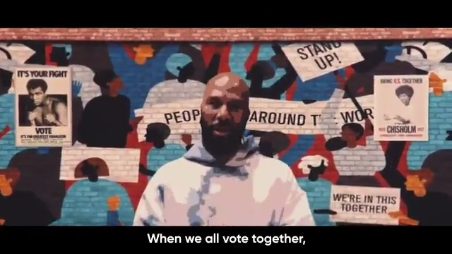 It's National #VoteEarlyDay! I want to see everybody vote early if they can. Head to  to make a plan to vote and research your ballot.  Special thanks to @Common for sharing this powerful song with @WhenWeAllVote and inspiring us all!