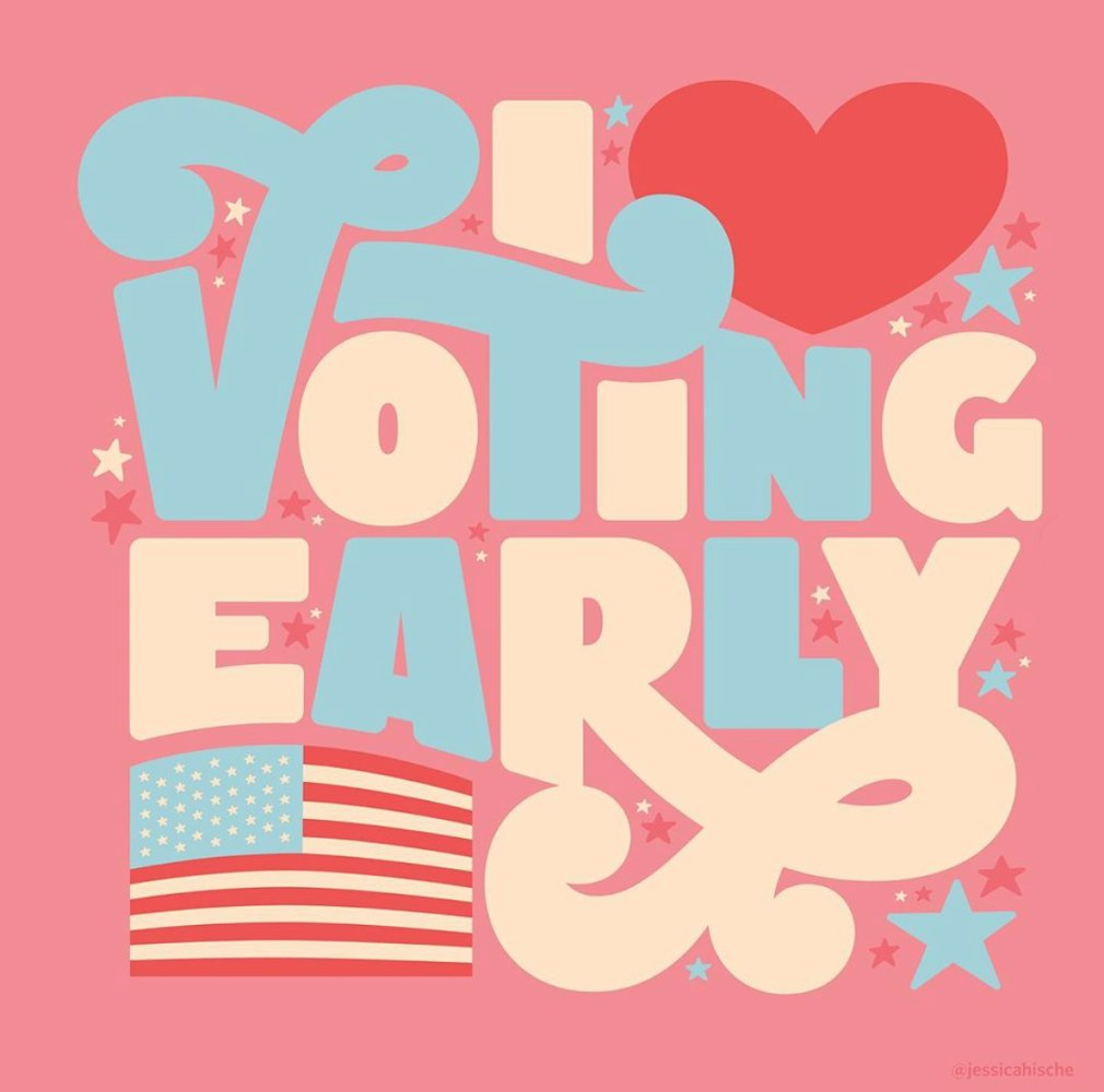 Its an understatement to say Im excited to vote this year. In many states, you can vote before November 3. Today, on #VoteEarlyDay, find out what your options are at VoteEarlyDay.org.