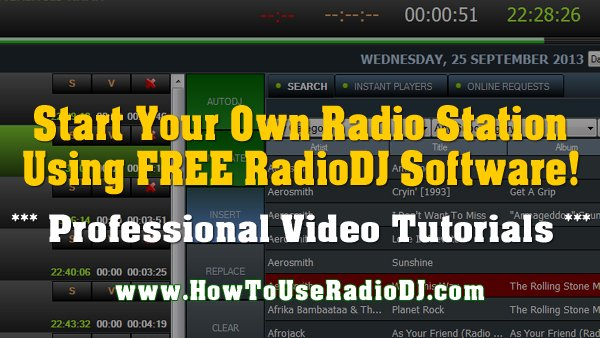 Learn How To Use #RadioDJ and start your own radio station! Learn from the Go-To-Guy for the best video tutorials!  https://t.co/uO1CptnzQh https://t.co/2roTqdC51R
