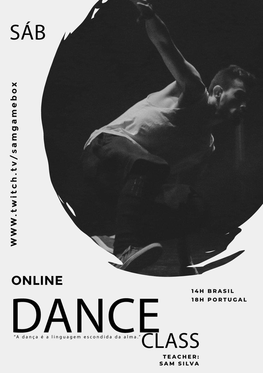 *ONLINE DANCE CLASS* Não esquecer que as 14H Brsail e 18H Portugal teremos a nossa aula de dança no canal https://t.co/HwiTKol37i. Vamos abanar o esqueleto! https://t.co/unmvrOp4ob