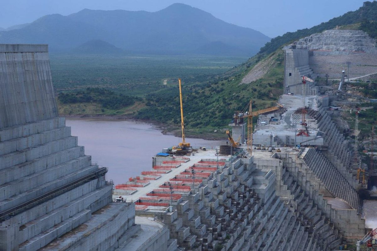 """🇪🇹👉#We_need_Power! The River #Abay source is here in Ethiopia, also the GERD Dam on Abay River that is building by people money for 🇪🇹in Ethiopia for the source of Electric Energy Power! """"Don't touch me our Sovereignty!"""" .@RepJasonCrow .@CNNPolitics The #Nile_River is in Egypt! https://t.co/QZucychom3"""
