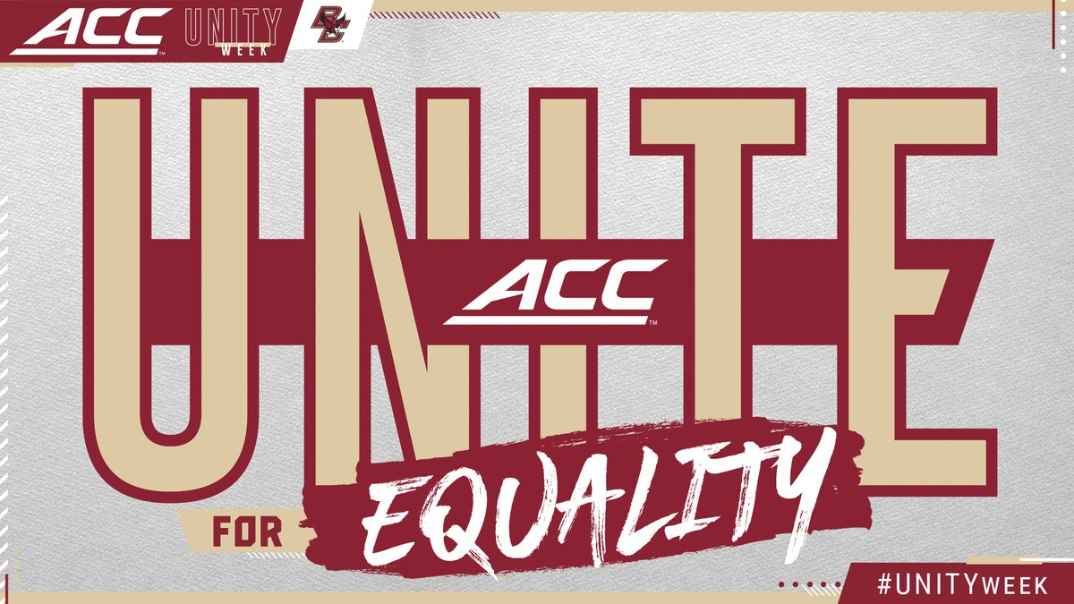 𝙒𝙚𝙡𝙘𝙤𝙢𝙚 𝙩𝙤 𝙐𝙣𝙞𝙩𝙮 𝙒𝙚𝙚𝙠! This week BC and the ACC unite in commitment for respect, dignity, and equality for all.  Schedule & Details⬇️ https://t.co/vg8gVb54Cv #ForBoston🦅 // #ForChange  #UNITYweek https://t.co/ZSEvwQ9lhY
