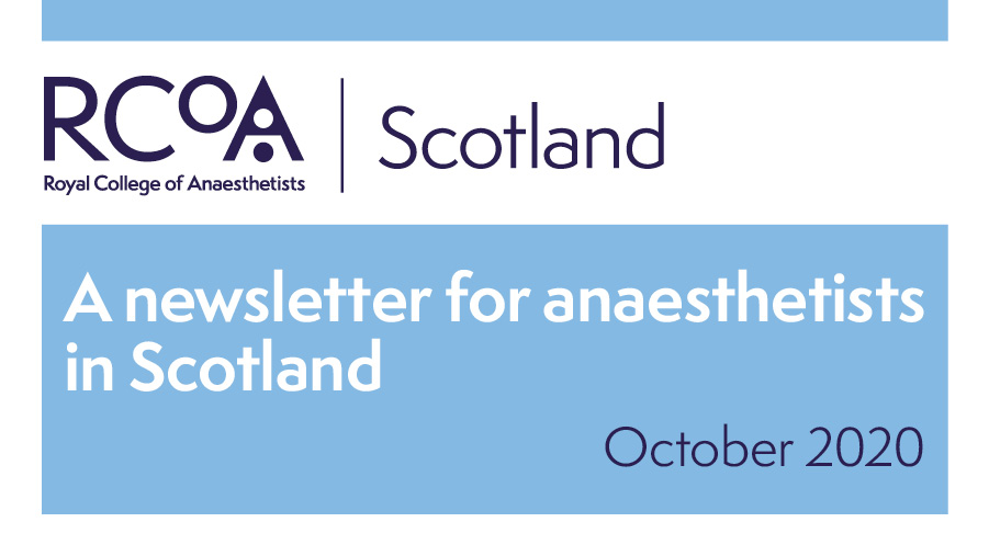 Your Scottish Board newsletter is now available: https://t.co/4Dvg7JTGOW  Read more about the upcoming Board elections, being an FRCA examiner during #COVID19, the role of trainee representatives, ground-breaking research across Scotland & the benefits of a flexible workforce. https://t.co/MaKYr5hsh4
