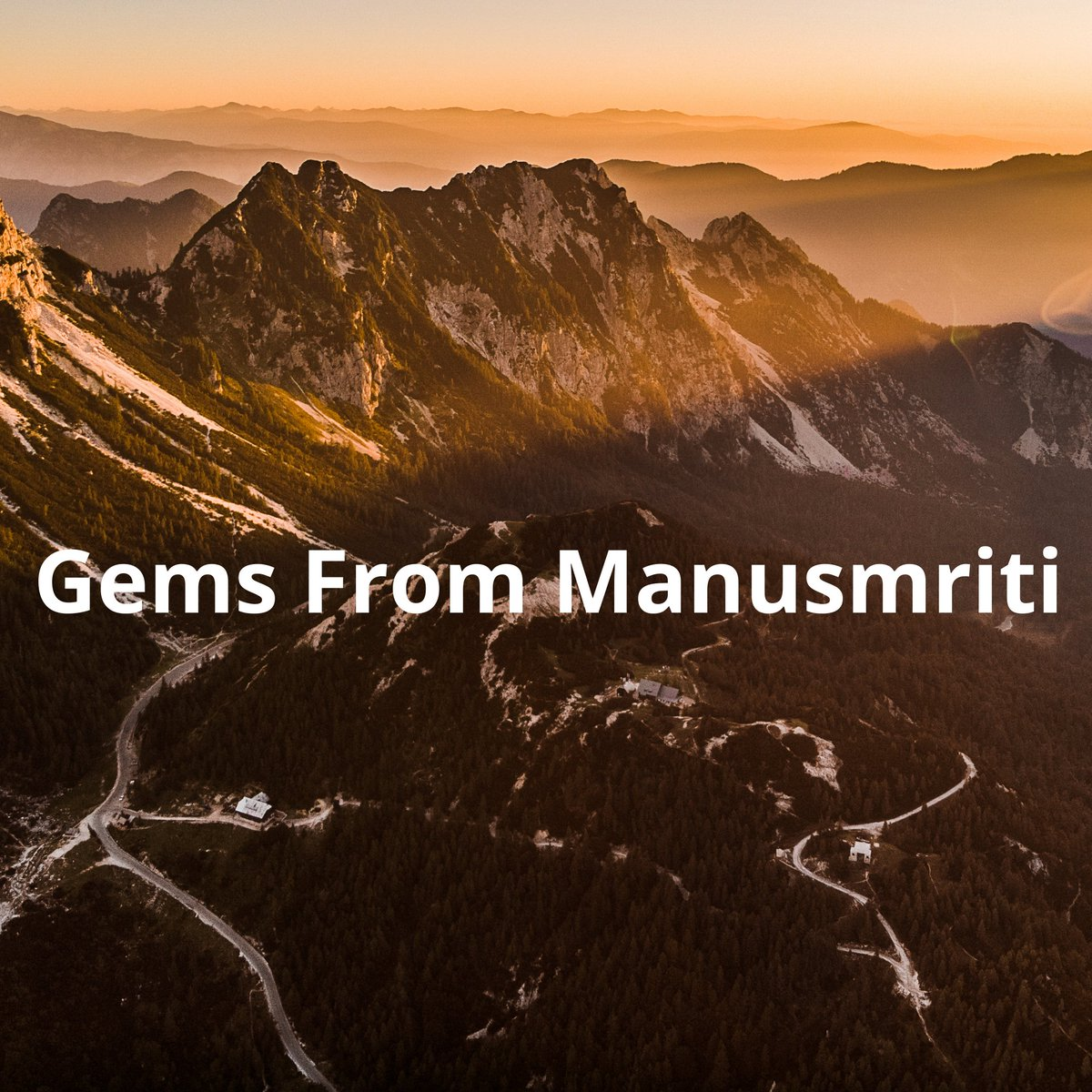Manusmriti is a gift to mankind, a book with beautiful teachings, in this thread I will list a few of those teachings by Maharishi manu. Read them to know what Manu ji believed in, his basic philosophy, and how Manusmriti is a precious gift to mankind. #Manusmriti #Manu