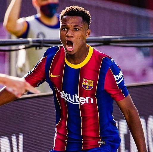 Fati scored in El-Clasico