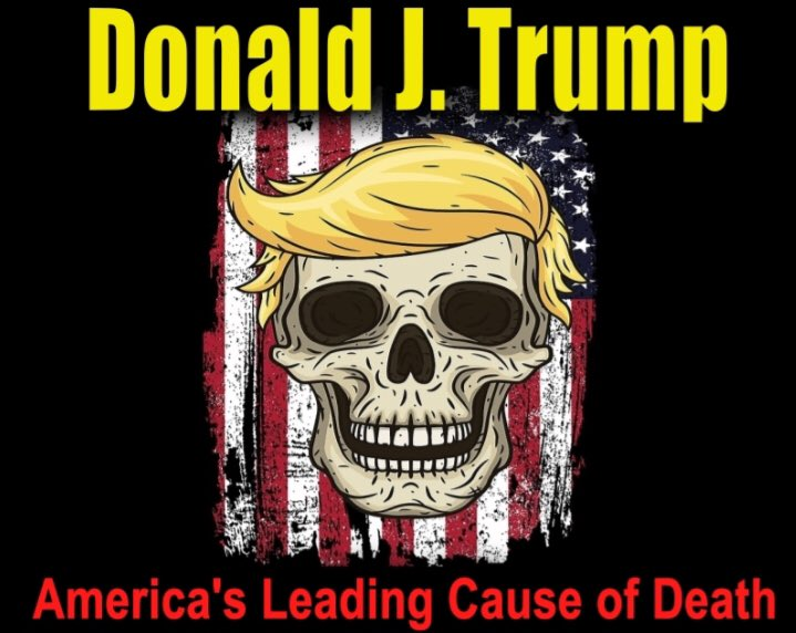 """@realDonaldTrump No!! DEATHS are """"way up"""" because you FAILED to respond like leaders in Germany or New Zealand.  220,000 Americans are dead, with another 200,000 by end of year.   Trump is toxic and cancerous, but most of all - incompetent in our time of need. https://t.co/m9npcYiPKk"""