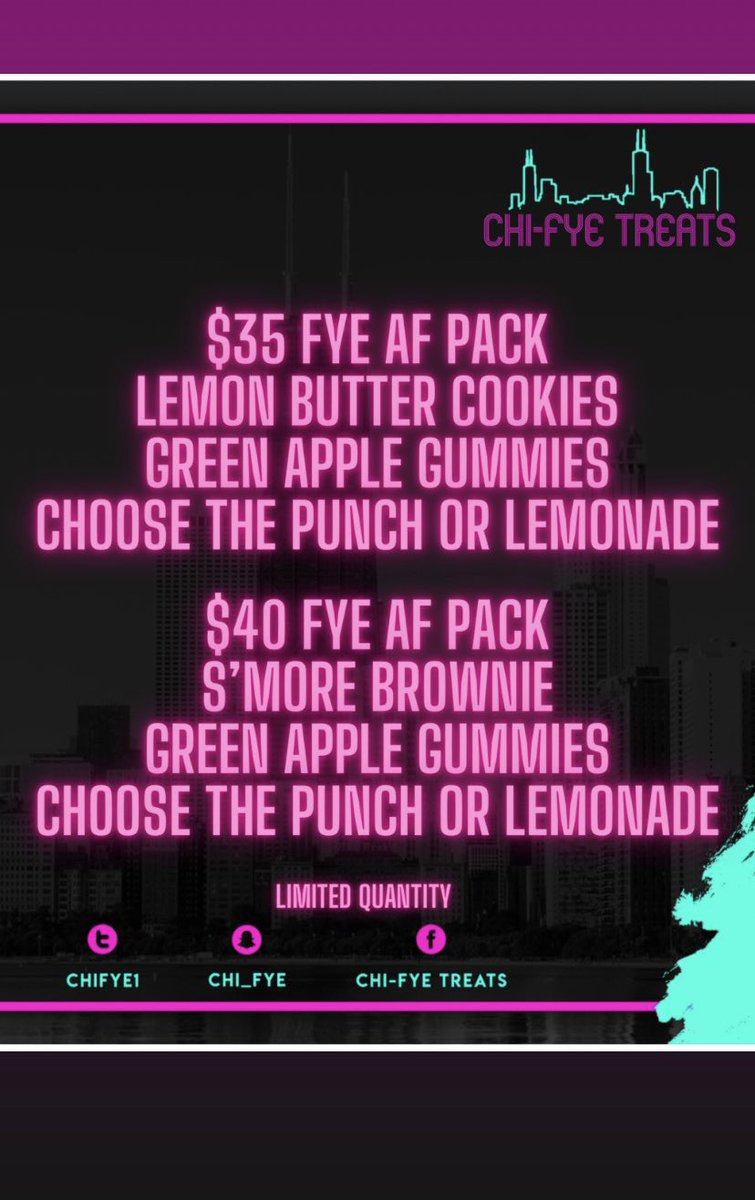 Get yours today😈  #chicagoedibles #medibles #terps #SaturdayVibes #Fall2020 https://t.co/uipdGytbwI