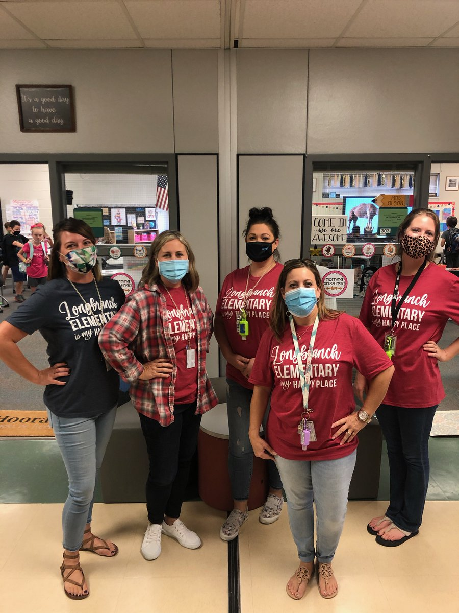 Love this team, love this place!!! @Longbranch_Elem #misdproud #leadlovelearn #LBEismyhappyplace💙