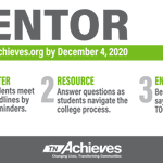 Image for the Tweet beginning: Being a student mentor is