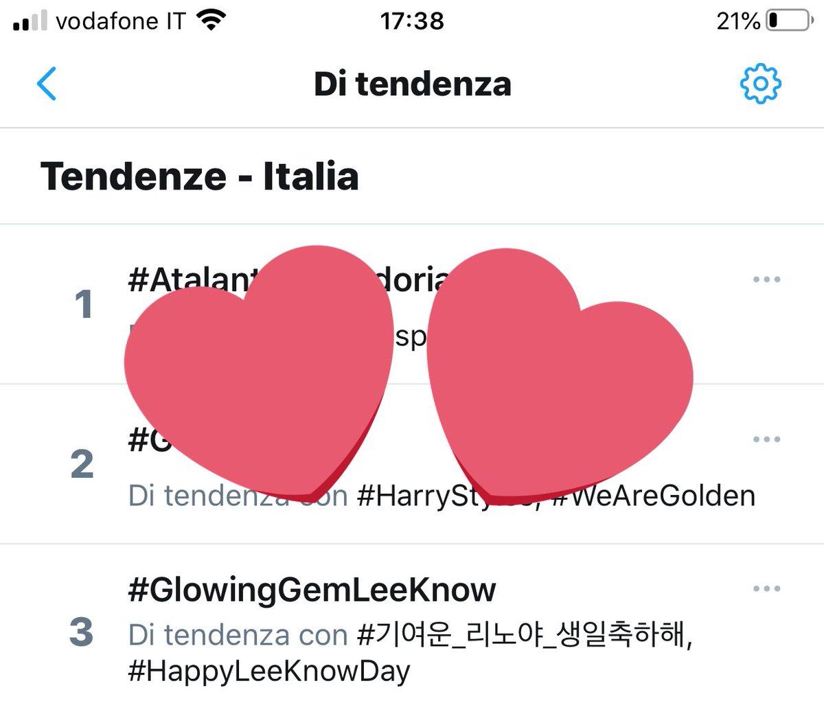 #GlowingGemLeeKnow