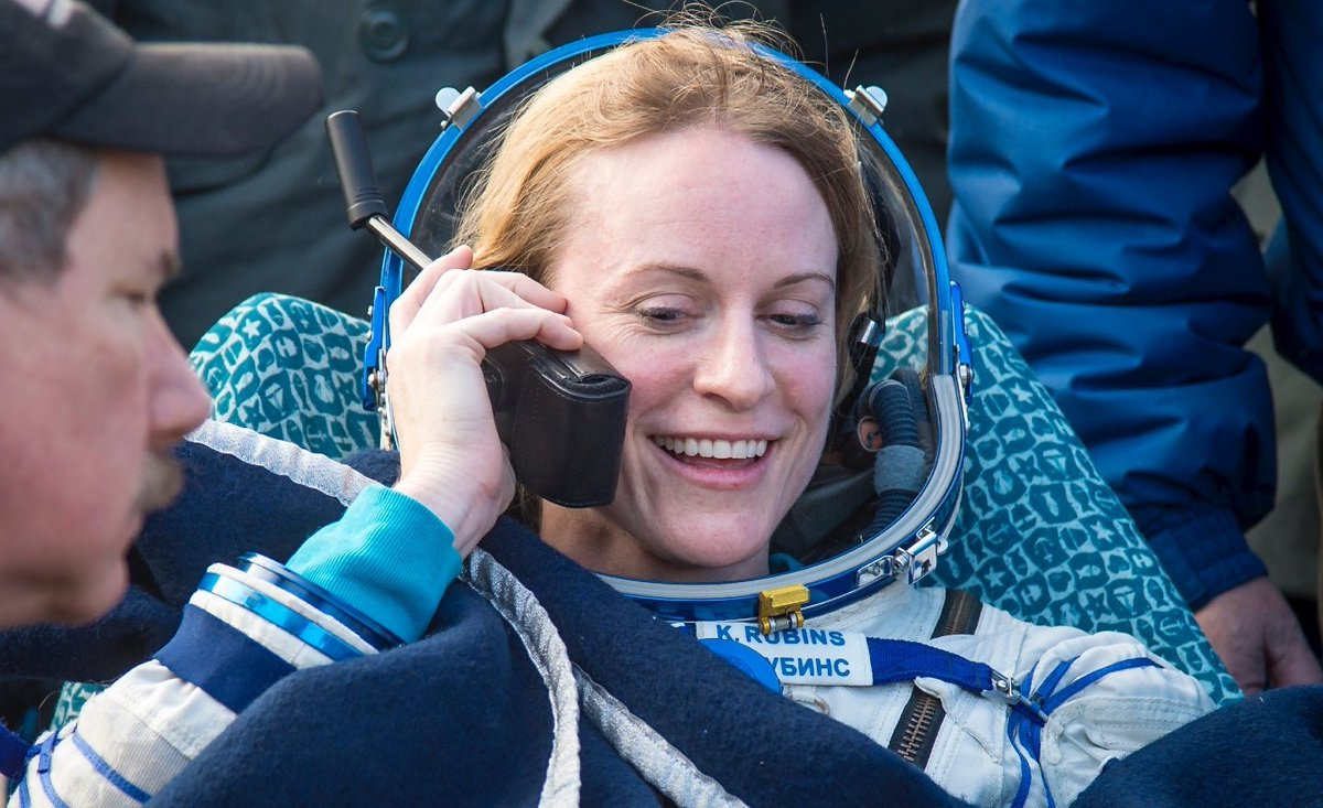 "NASA astronaut Kate Rubins votes from space in the US election using the ""ISS voting booth"" https://t.co/za2lVbVfPg https://t.co/n8693DQf99"