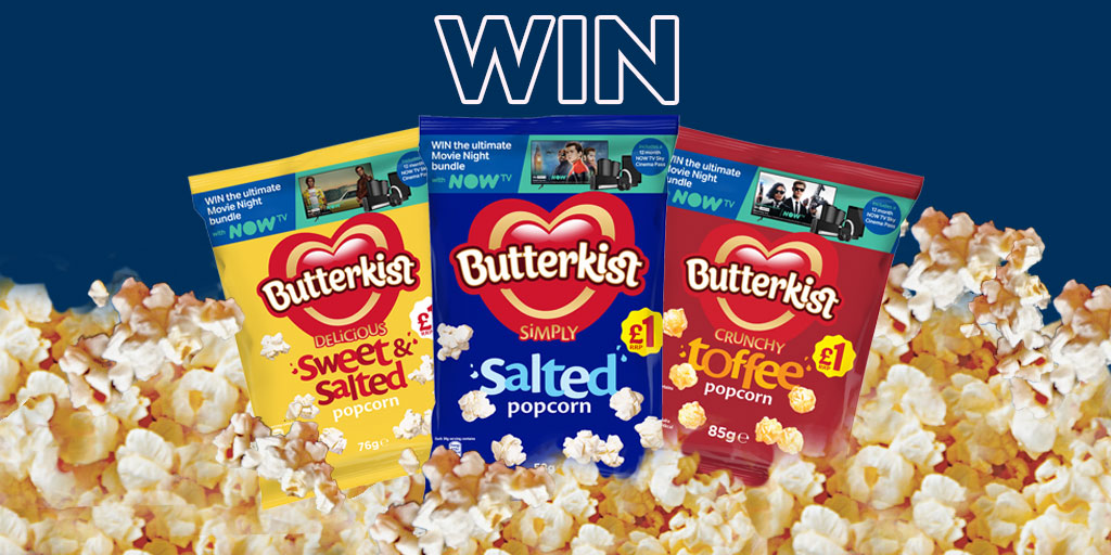 It's Saturday night which calls for a film night! RETWEET + let us know your favourite 'cosy night in' Butterkist flavour in the comments for your chance to WIN a case of @ButterkistUK Popcorn! 🍿  T&Cs: https://t.co/au4qOyahmU Closing Date: 31st October 2020 https://t.co/U4sCkNluMh