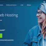 Image for the Tweet beginning: Get started with Bluehost website
