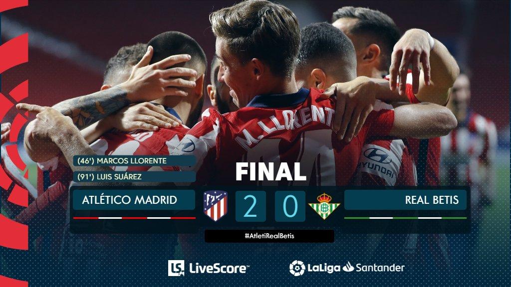 Atletico Madrid-Betis Séville