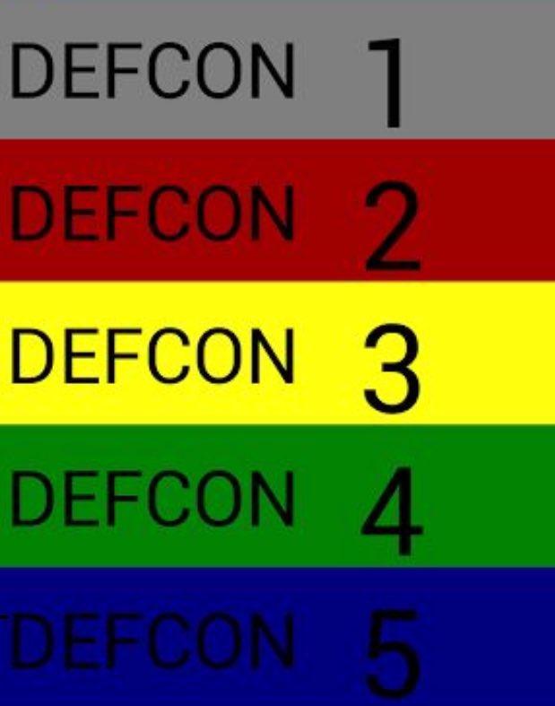 "DEFCON 3 I repeat DEFCON 3. Someone check on Lavar Arrington.  Hoosiers 17 ""We are"" 7. https://t.co/djtqJEhSrW"