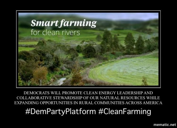 #Democrats will make investments to create millions of family-supporting and union jobs in clean energy generation, energy efficiency, clean transportation, advanced manufacturing, and sustainable agriculture across America.10/18  #DemPartyPlatform  #ClimateAction    #GreenEnergy