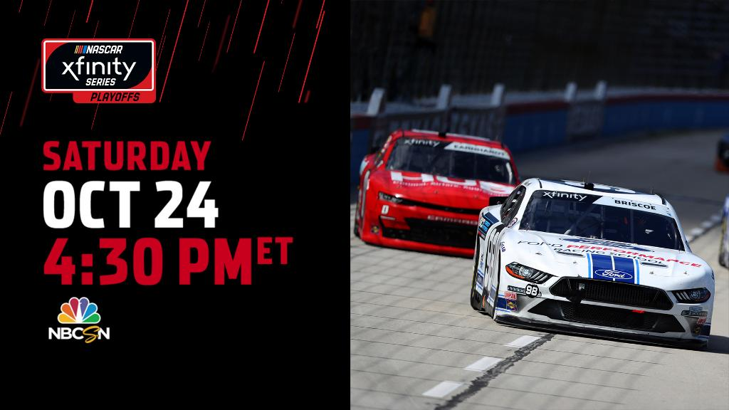 Its been a minute seen weve seen some @NASCAR_Xfinity at The Short Track... Well be studying up today at 4:30 PM ET on NBCSN.