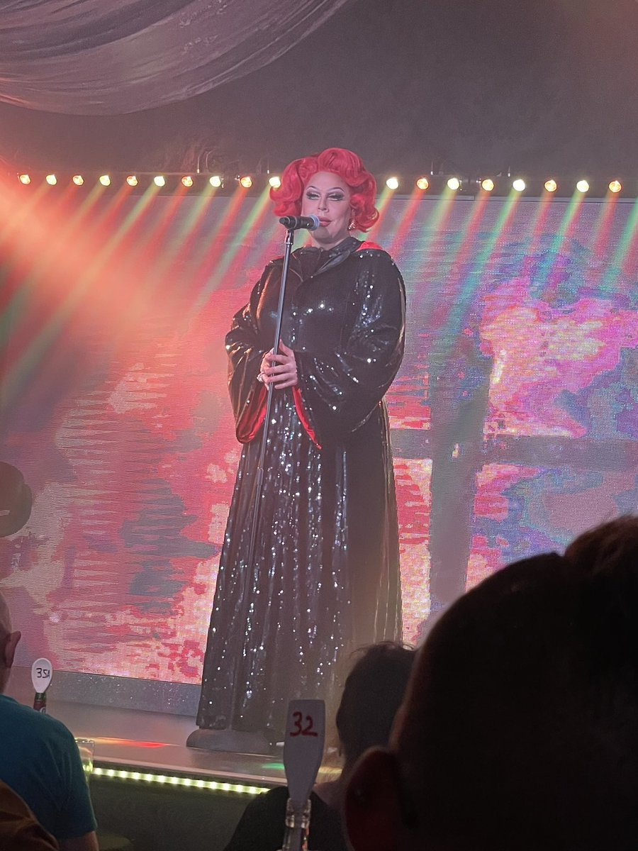 So this afternoon @lavoixtheshow put on one hell of a show to send off @edenbirmingham  Thank you and much love x https://t.co/Yuel8F61p9
