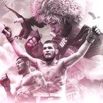 Image for the Tweet beginning: KhabibNurmagomedov defends his lightweight title
