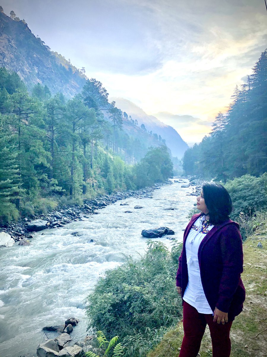 #Kasol #HimachalPradesh #Himachal #BeasRiver #Valley #BreathtakingView https://t.co/gx6kJueiwI
